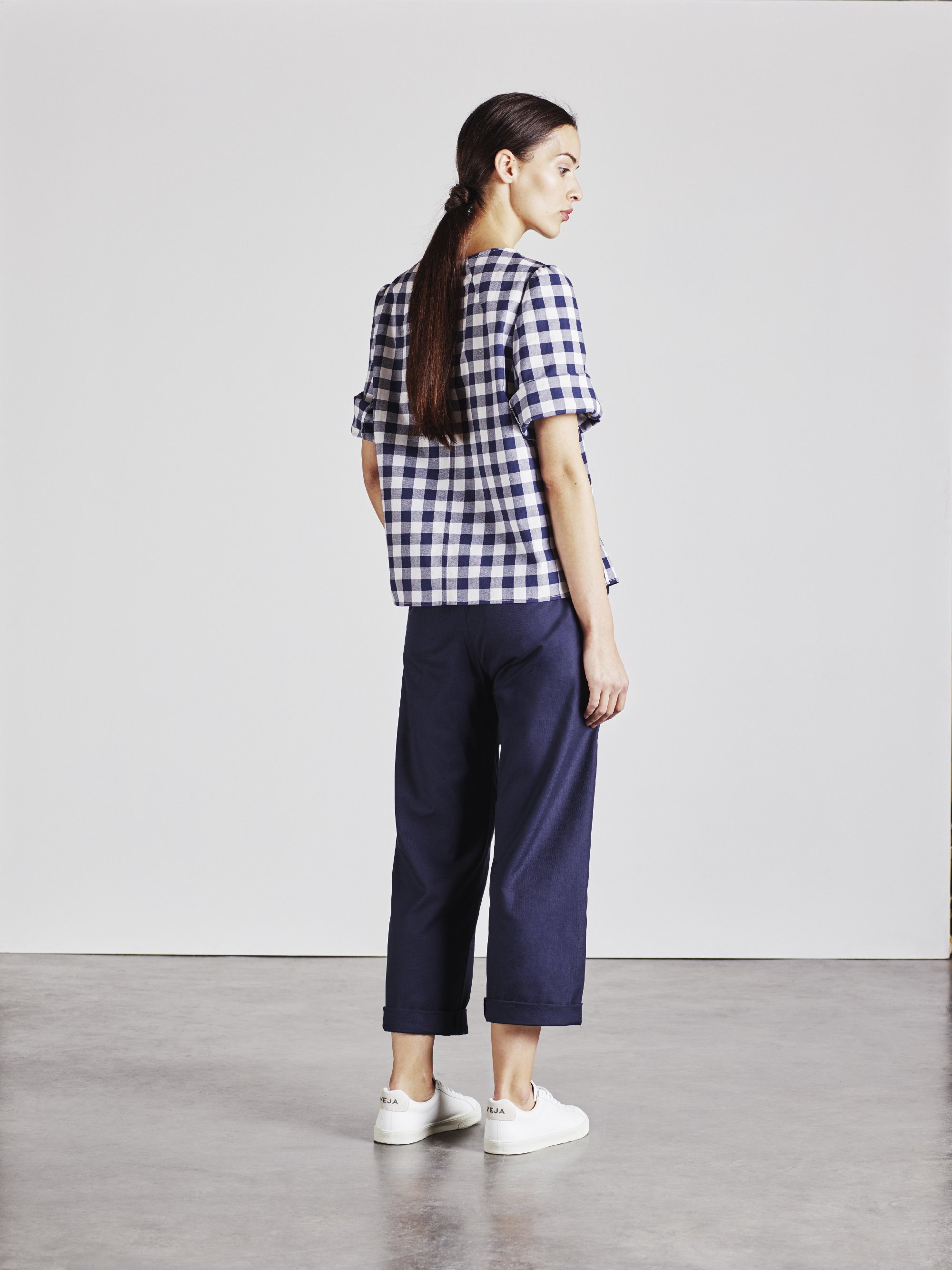 The Rachael top in check