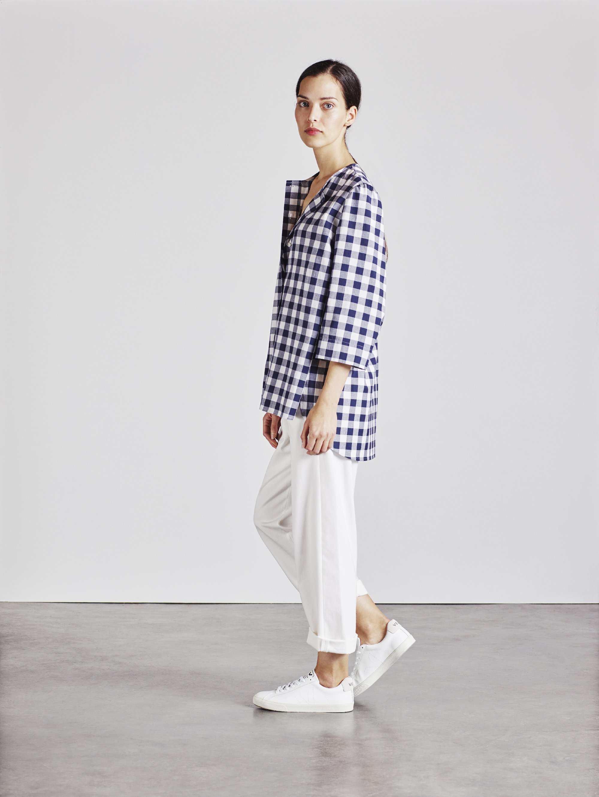 Alice Early Bethan Shirt in Check