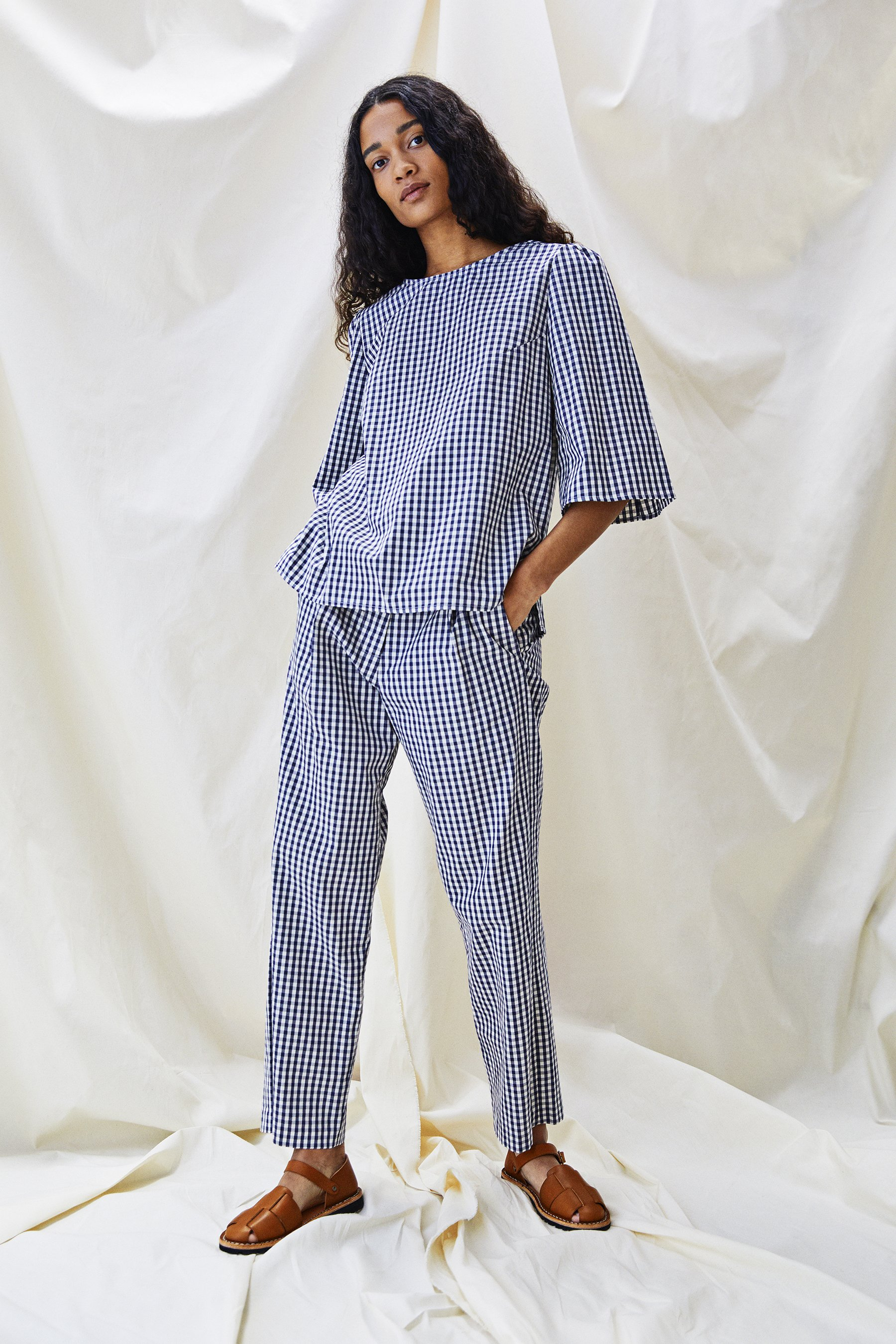 Organic cotton The Ford Trouser by Alice Early