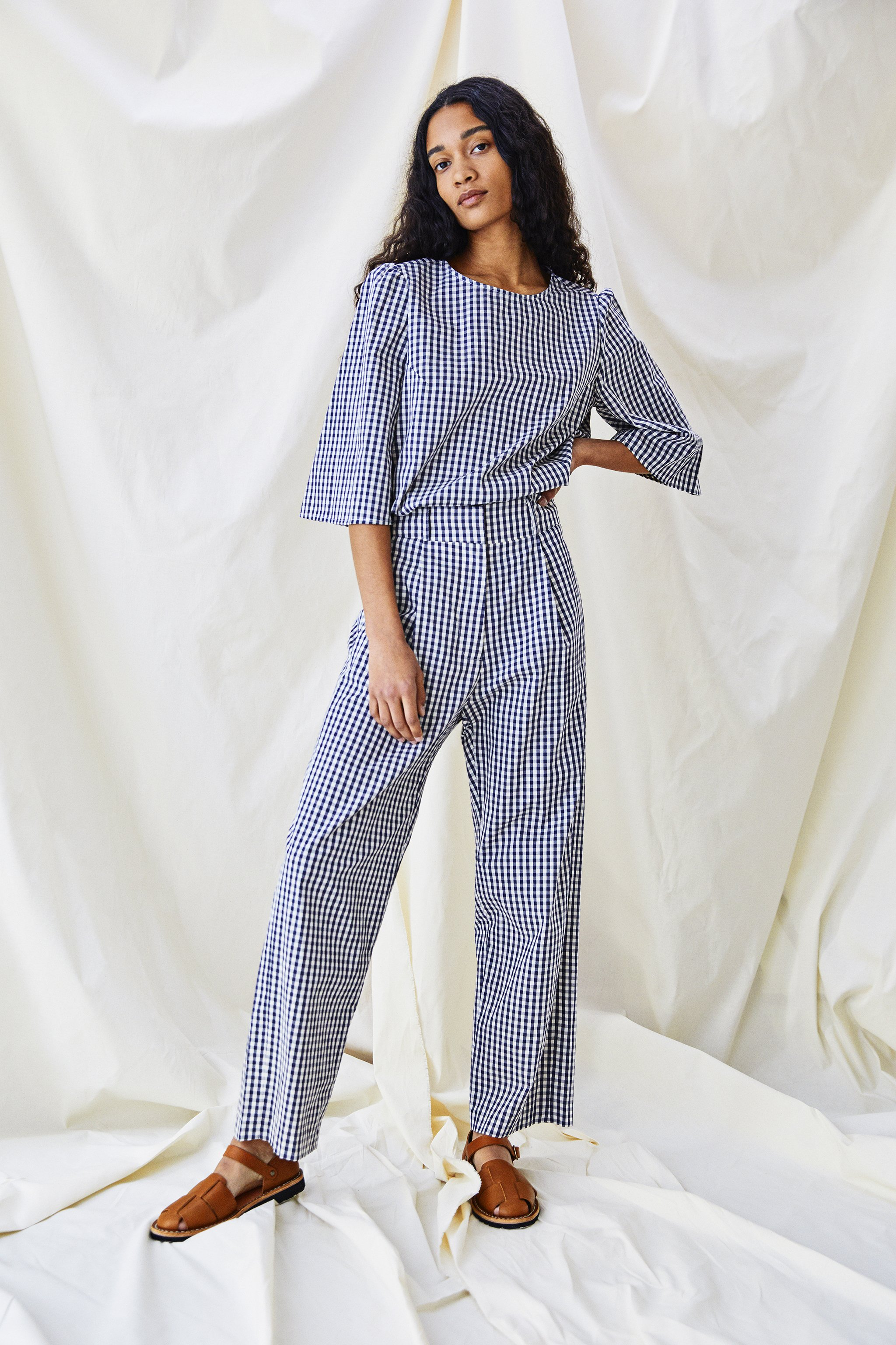 Alice Early Ford Trouser mini check