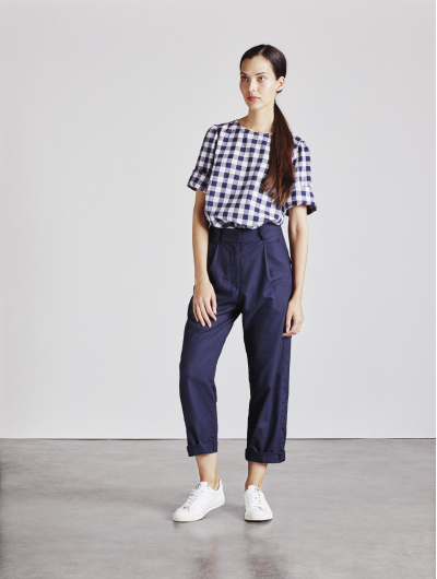 Alice Early The Rachael Top in Check
