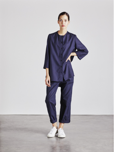 Alice Early minimal Bethan Shirt in Navy