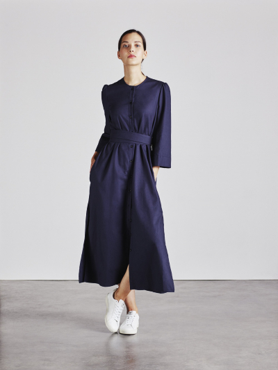 Alice Early Raminta Shirt Dress in Navy